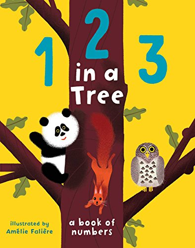 123 in a Tree (Colorful The Squirrel Owl Monkeys)
