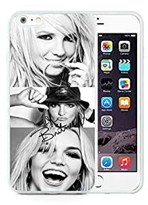 iPhone 6 Plus Case,Britney Spears 1 White For iPhone 6 Plus 5.5 Case
