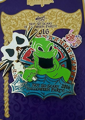 (2016 Mickey's Not So Scary Halloween Party Annual Passholder Nightmare Before Christmas Oogie Boogie Masquerade)