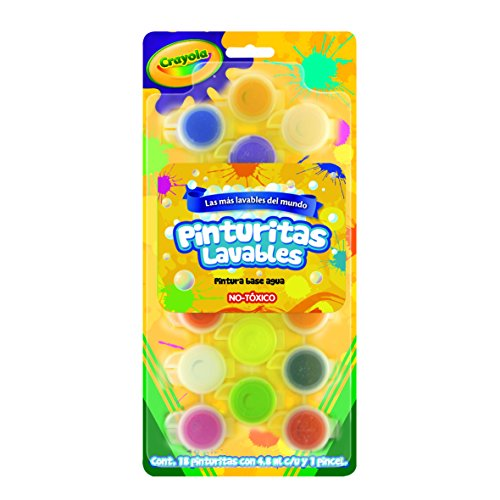Crayola Washable Paint Colors Bright