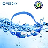 Kids Swimming Goggles, VETOKY Children Swim Goggles No Leaking Anti Fog Crystal Clear Vision for Junior Boys and Girls 3-10 years old