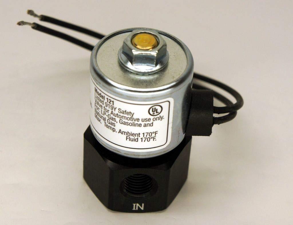 AFC-151R Advanced Fuel Components Solenoid Shut Lock Off Valve Model 12 VOLT