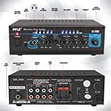 Home Audio Power Amplifier System - 2X120W Mini