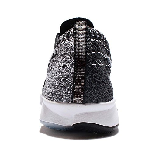 Gris Flyknit Wmns Zoom Chaussures Nike White Agility Black EDH29YWI