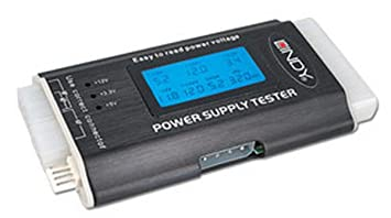 LINDY ATX Power Supply Tester with LCD Display: Amazon.co.uk ...