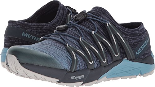 Merrell Bare Access Flex Knit Womens Trail Running Shoes 9.5 B(M) US Women Navy Review