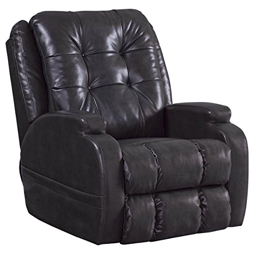 Catnapper Jenson Power Lift Full Lay-Flat Recliner with Comfort Coil Seating Featuring Comfor-Gel -