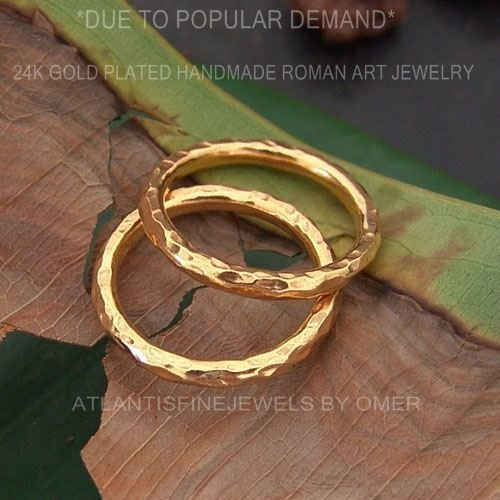 Yellow Gold Stack Design - 1