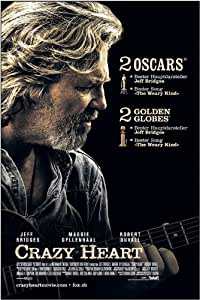 Amazon.com: Crazy Heart 27 x 40 Movie Poster - Swiss Style ...