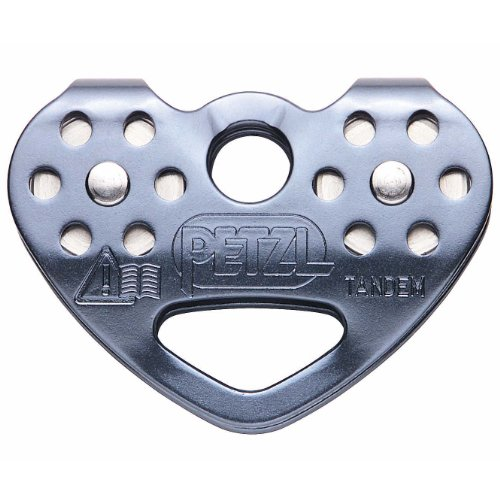 Petzl Tandem Speed Double Pulley One Color One Size - Petzl Pulley