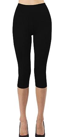 iLoveSIA Women's Capri Tights Workout Yoga Leggings XS S M L XL ...