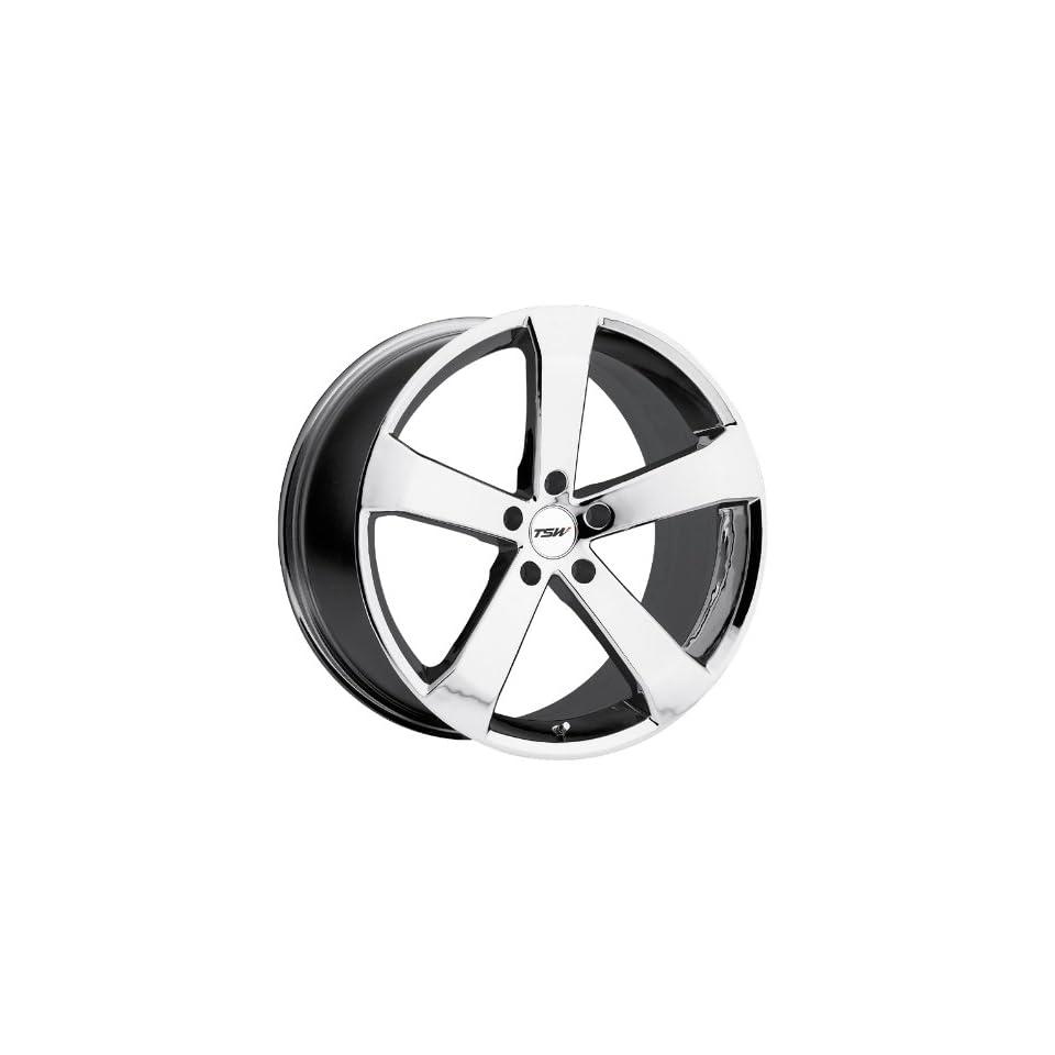 19x8 TSW Vortex (Chrome) Wheels/Rims 5x114.3 (1980VOR205114C76)