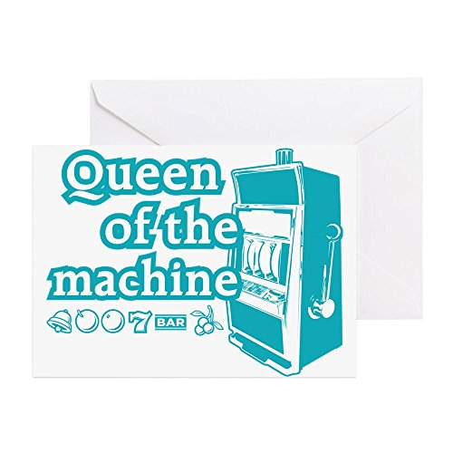 CafePress - Queenslote - Greeting Card, Note Card, Birthday Card, Blank Inside Glossy