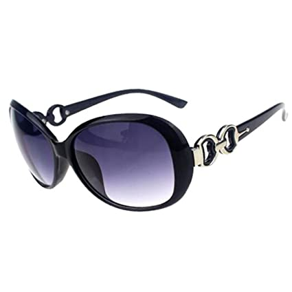 9af8b8c0fc3cb Women Shades Oversized Eyewear Classic Designer Sunglasses Fashion Style  UV400-Shining Black Grey