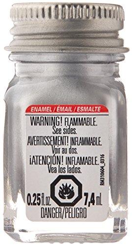 Testors 1146TT Enamel Paint Testor, Metallic Silver, 1/4-Ounce
