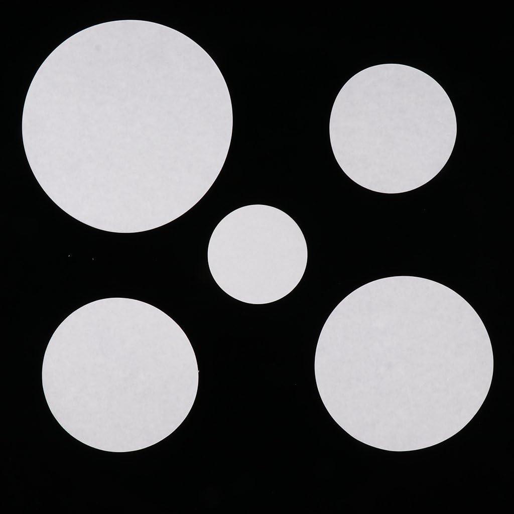 11cm Homyl 100 x Papier Filtre Rond Caf/é Diam/ètre Dans Emballage Prix Lentes 1-3cm blanc