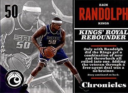 Amazon.com  2017-18 Panini Chronicles  49 Zach Randolph Sac Kings ... a37ae6ae2