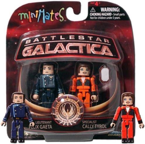 Battlestar Galactica Minimates série 3 Lieutenant Helo