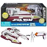 Hasbro Star Wars Naves Republic interceptor tank RC - Nave espacial de la Guerra de las Galaxias