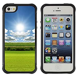"Hypernova Defender Series TPU protection Cas Case Coque pour Apple iPhone SE / iPhone 5 / iPhone 5S [Naturaleza Tranquilo""]"