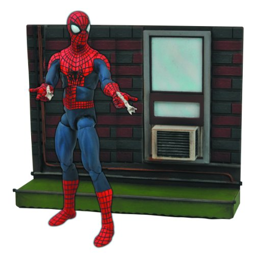 DIAMOND SELECT TOYS Marvel Select: Amazing Spider-Man 2 Action Figure with - Amazing Figure Man Spider 2