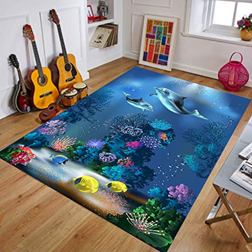 GWXDT Hallway Runner Rugs Corridor Carpet Living Room Coffee Table Rectangular Carpet 3D Entrance Bedroom Washable Soft-Touch Bottom Anti-Skid, Thickness 8mm 6 Solid Colors
