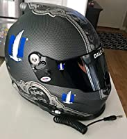 Dale Earnhardt Jr Signed Nationwide Insurance Full Size Helmet COA - PSA/DNA Certified - Autographed NASCAR Helmets by Sports Memorabilia