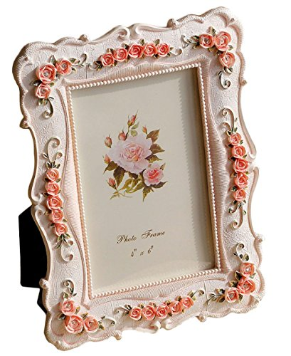 amazoncom gift garden roses decor 4 by 6 inch frames for wedding gifts valentines gifts 4x6 picture frame gifts for mom