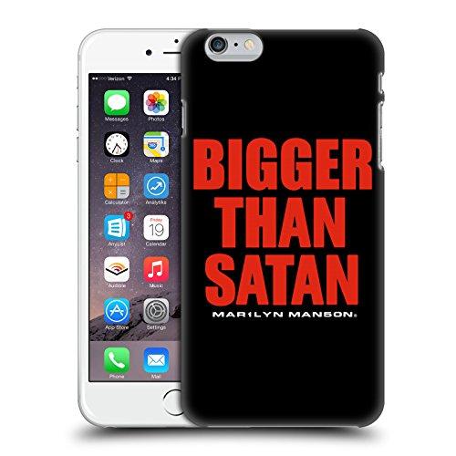 Officiel Marilyn Manson Plus Grand Que Texte De Satan Art Clé Étui Coque D'Arrière Rigide Pour Apple iPhone 6 Plus / 6s Plus
