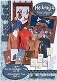 Anita Goodesign Embroidery Designs Holiday #4 BOX SET