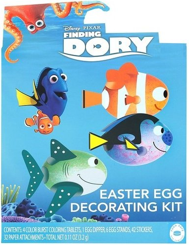 Crayon Box Dress Teen Costumes (Disney Pixar Finding Dory Easter Egg Decorating Kit)