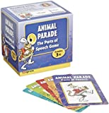 Edupress Last One Standing Animal Parade Parts of Speech Card Game - Set of 200