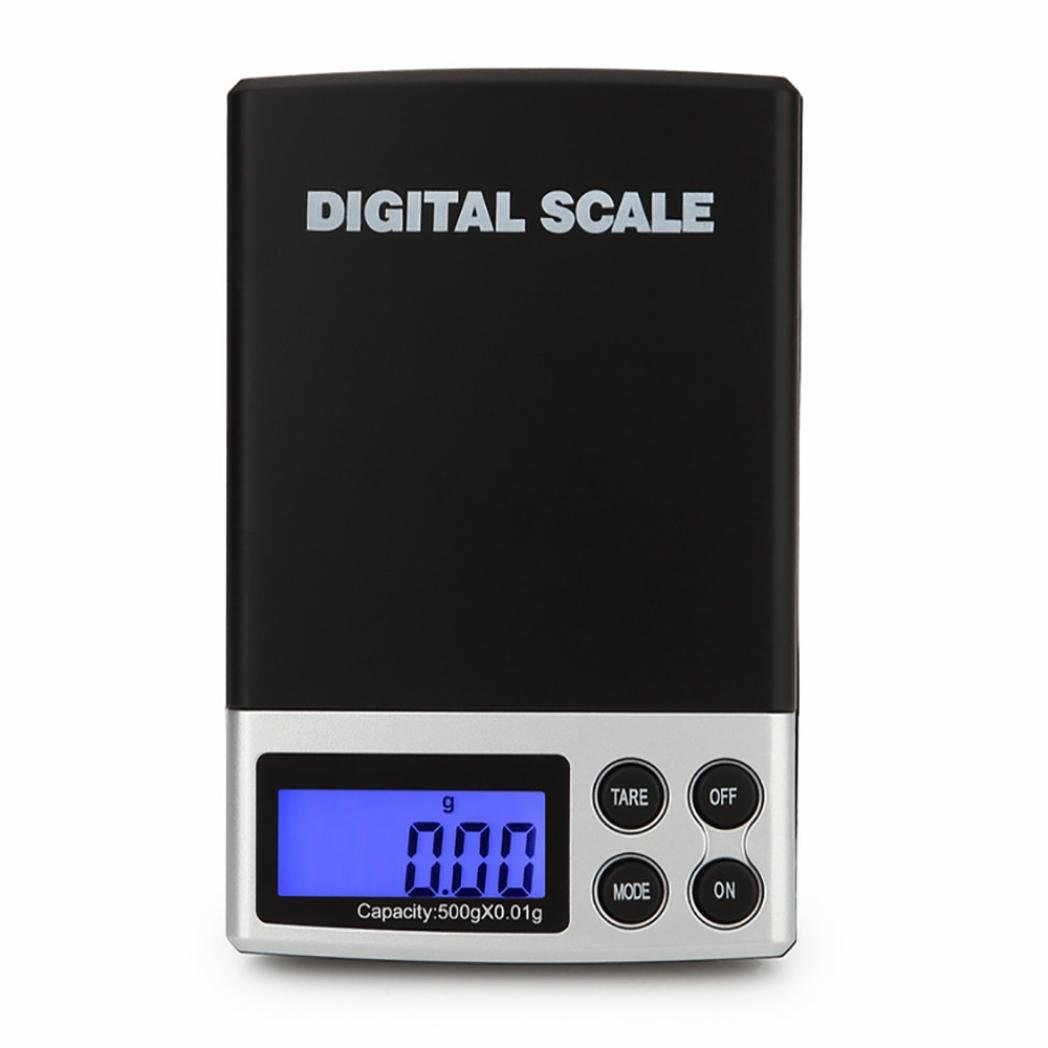 d03f1c14f673 Amazon.com: SUKEQ Mini Smart Weigh Digital Pocket Jewelry Scale + ...