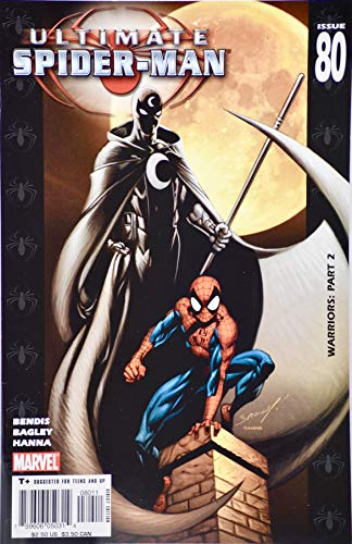 2005 - Marvel Comics - Ultimate Spider-Man #80 - Warriors: Part 2-2nd App Ultimate Moon Knight - Collectible ()