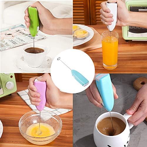 SIWEI Elektrische Eiermaschine Mini Handheld Elektrische Milchschäumer Handmixer für Kaffee Tee Ei Tragbare Mixer