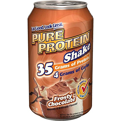 Pure Protein Ready to Drink Shake - Frosty Chocolate - 24 Cans by Pure Protein