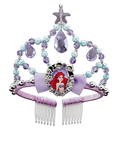 Ariel Classic Disney Princess The Little Mermaid Tiara, One Size (Ariel Disney Costumes)