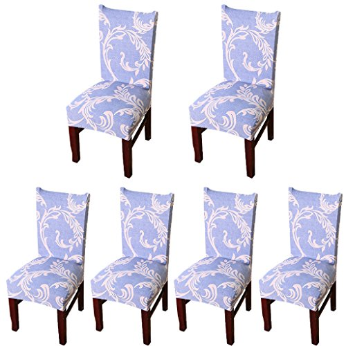 Deisy Dee Stretch Chair Cover Removable Washable for Hotel