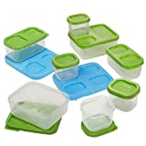 Rubbermaid TakeAlongs Food Storage Containers, Extra Deep Squares, 7 Cup, 2-Pack