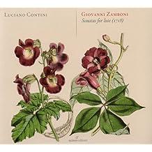 Zamboni: Sonatas for lute