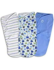 SwaddleMe Original Swaddle 3-PK, Large