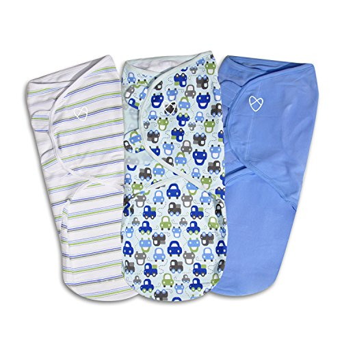 SwaddleMe Original Swaddle 3-PK, Graphic Car (LG)