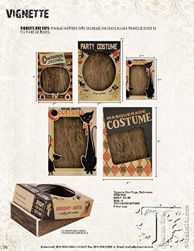 Tim Holtz Halloween Idea-Ology, Halloween Box Tops