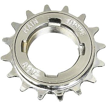 "Single 22T X 1//8/"" Sunlite Single Freewheel Freewheels Gold"