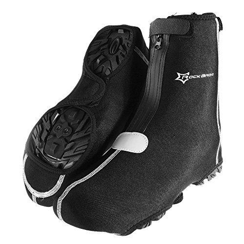 RockBros Cycling Bike Shoe Cover Warm Cover Protector Overshoes Black