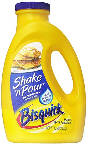 Price comparison product image Bisquick Shake 'n Pour Buttermilk Pancake Mix (Pack of 3) 10.6 oz Bottles