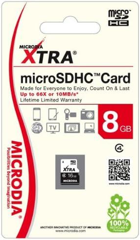 MICRODIA 4 GB SDHC Class 6 Flash Memory Card Xtra 52x