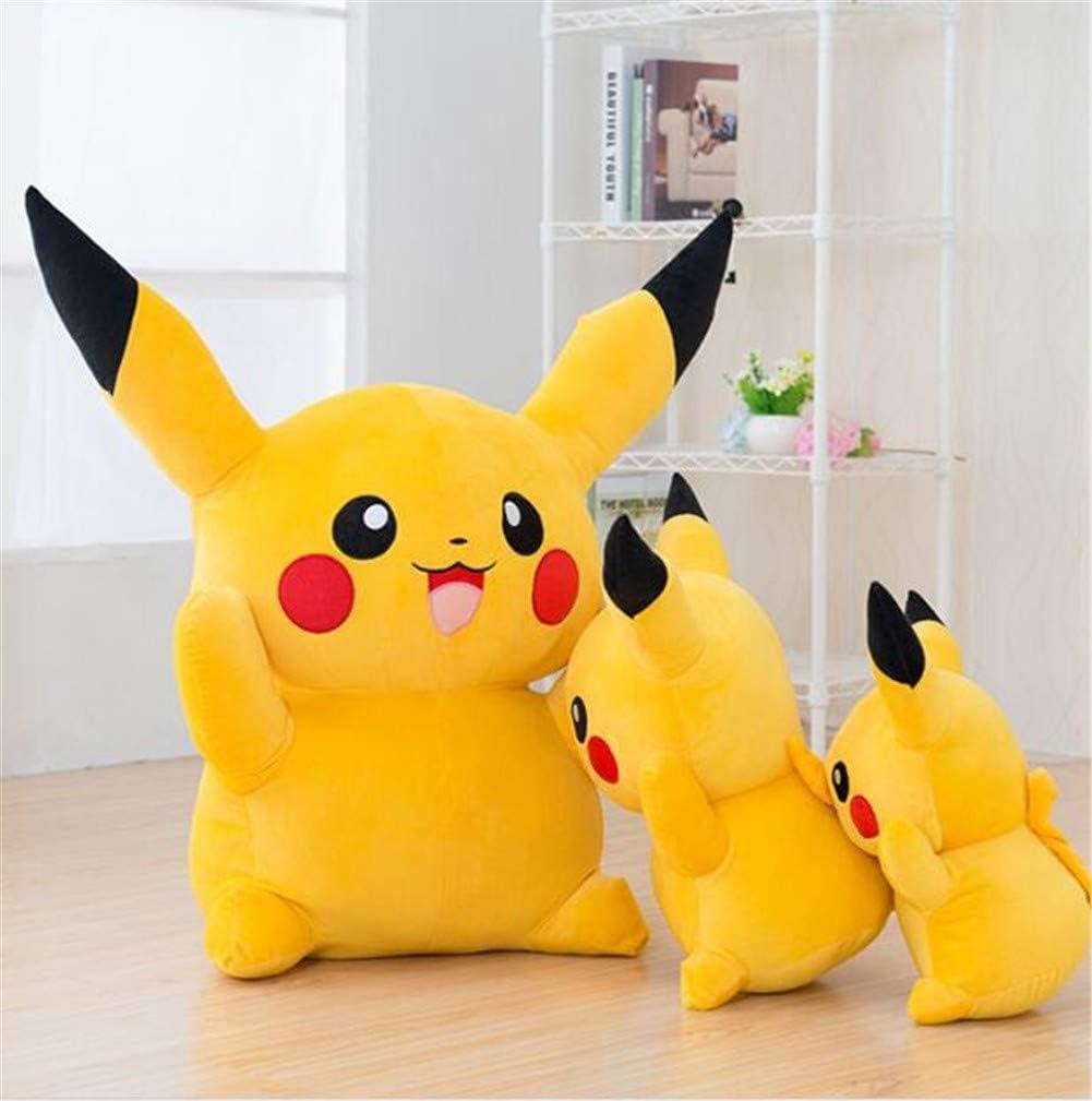PANGDUDU Cartone Animato Anime Pok/émon Pikachu Bambola Simpatico Peluche Grande Giocattolo Bambola Giocattolo per Bambini 20Cm