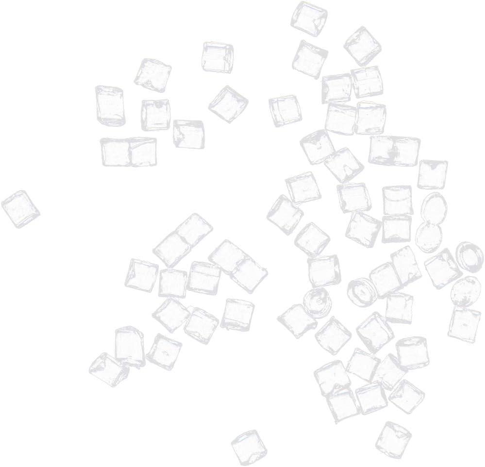 perfeclan Cubetti di Ghiaccio Bevande in Miniatura Decorazione di Forniture Alimentari in Miniatura per Casa delle Bambole Fredda