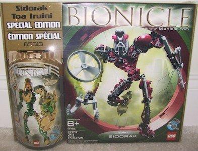 Bionicle Edition Special (Bionicle: Sidorak/ Toa Iruini Special Edition Set)